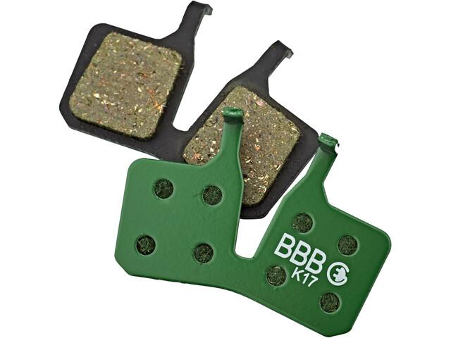 BBB DiscStop E-Bike BBS-371E Brake Pads, green